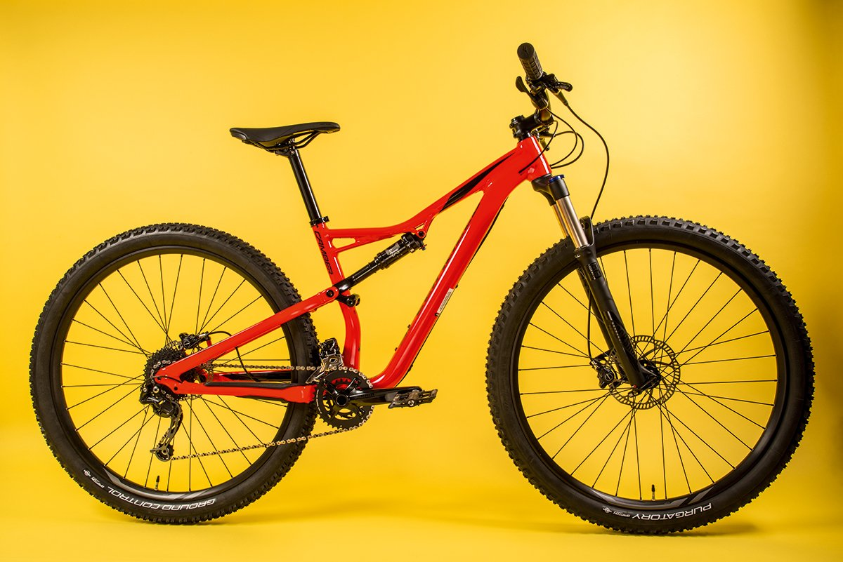 Specialized Camber Full Suspension Mtb Review Cyclist