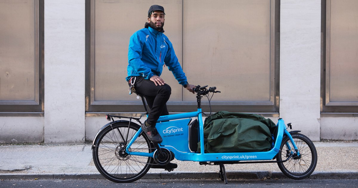 Cargo Bikes Proved To Outpace Vans On Majority Of Urban