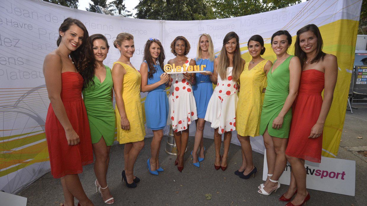 Podium Girls Look Set To Be Scrapped From The Tour De France Cyclist