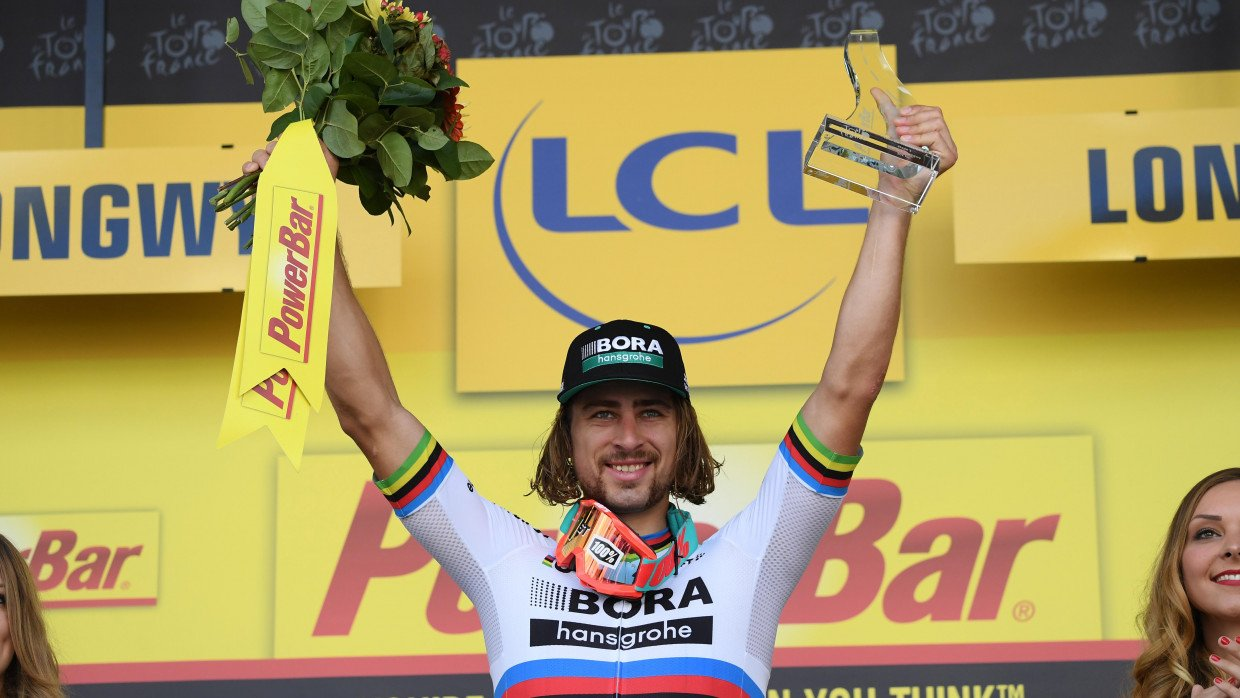 Tour De France 2018 Stage 2 Results Highlights Peter Sagan Wins To Go Into Yellow Cyclist