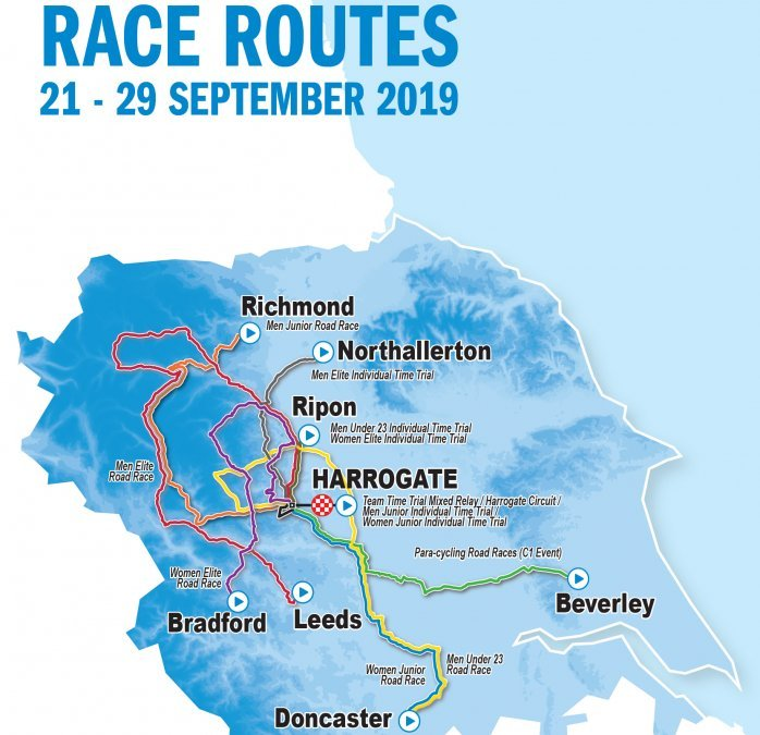Yorkshire 2019 World Championships: Race schedule, routes