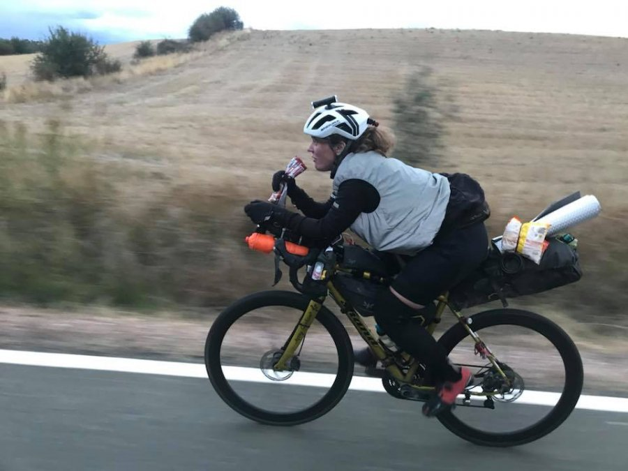944d6bc24a4 Scottish cyclist Jenny Graham smashes round the world cycling record ...