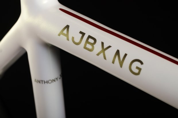 Check out Anthony Joshua's custom-made FiftyOne road bike | Cyclist