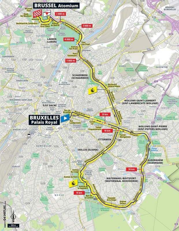 Map Of The France.Tour De France 2019 Route Map Stages Live Tv Coverage And All You
