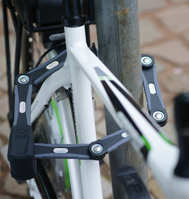 55cm bicyle Cable lock including 2 Key Bicycle Cycle Lock Steel Security UK
